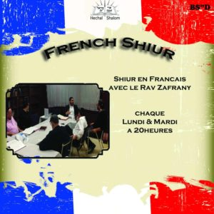 French Shiur Hechal Shalom